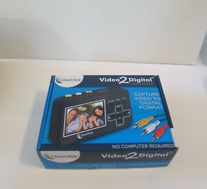 ClearClick Video 2 Digital Converter- VHS tapes VCR's camcorders DVD/DVR gaming