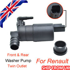 Front Windscreen Wiper Washer Pump Motor For Renault Series Clio III Twin Outlet
