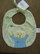 Kelly Rightsell Skipper Boy Dog Baby Bib Nwt