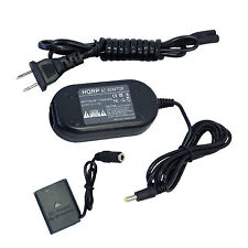 HQRP AC Adapter + DC Coupler for Nikon EH-62D fits Coolpix S80, S520, S600, S700