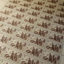 FEUILLE SHEET SELLO VÍCTIMAS DE LA GUERRA EL BOTÓN PTT Nº737 x50 1945 NEUF MNH