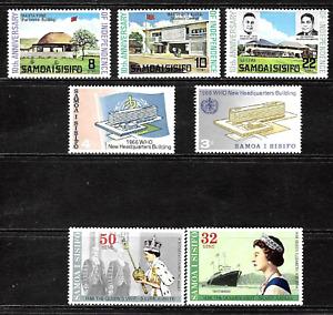 Samoa ........   Beautiful Stamps ... 4938