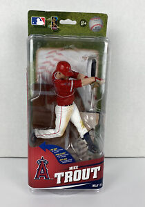 New MIKE TROUT MLB 33 McFarlane Toys Anaheim Angels Baseball Sealed SPD