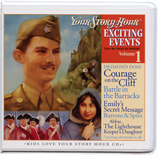 Your Story Hour Exciting Events Volume 1 Pages of History CD AUDIO DRAMA Album