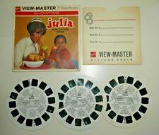 JULIA NBC TV VIEWMASTER REELS 1969 ORIGINAL SET B572 RARE   G045
