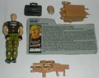2017 Black Major Custom GI Joe 1987 Starduster v1B Figure Complete w// File Card