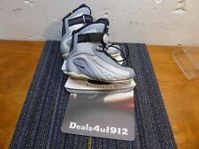 Nike Flexposite Ice Hockey Sport Skates Women's Size 5 Us 35 Eu Blue Very Good