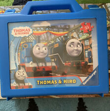 Thomas & Hiro 35 Piece Puzzle, With Carrying Case, Ravensburger, Complete, Used