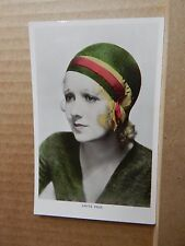 Colourgrapgh Film Star postcard C107 Anita Page unposted .
