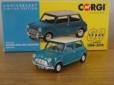 CORGI 60 YEARS VANGUARDS AUSTIN MINI MK1 COOPER SURF BLUE CAR MODEL VA02538 1:43
