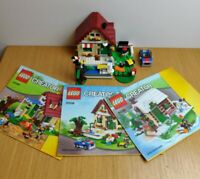 Lego Creator Changing Seasons House 3 in 1 Set 31038 with Instructions + Figs
