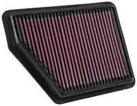33-5045 K&N High Flow Air Filter fits HONDA CIVIC 1.8/2.0 2016-