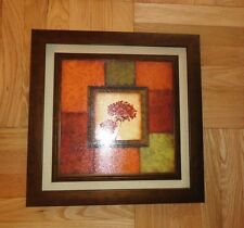 """Wall Art Decor Picture 17""""x17"""" (43cmX43cm), Brand New With Tag, Nice Warm Colors"""