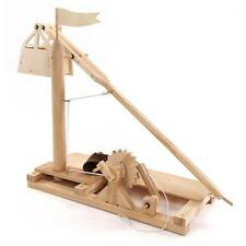 Pathfinders Leonardo da Vinci Trebuchet Working Wood Model Kit
