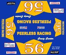 #56 Craig Carter Peerless Racing Camaro 1/32nd Scale Slot Car Decals