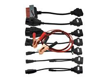 Adapter Cables For DS150E DS150 Full Set 8 Car Cables For TCS CDP Pro Cable