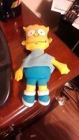 "Vintage 10"" 1990 Bart Simpson Rag Doll Plush Dan Dee Toy"