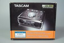 TASCAM US-366 USB 2.0 AUDIO INTERFACE W/ DSP MIXER