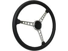 Sprint Steering Wheel Hot Rod Kit   3 Spoke-Holes   Black Deluxe Horn Cap