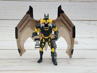 """Night Hunter Batman Forever Batman Sction Figure Wings Kenner 1995 DC Vintage 5"""""""