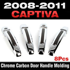 Luxury Chrome Door Catch Handle Molding Cover Trim for CHEVROLET 2008-11 Captiva