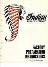 20+ INDIAN Enduro Dirtbike Motorcycle Service Manuals & Parts Catalogs 1970-1977