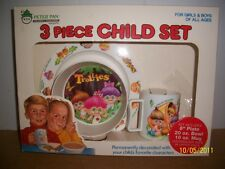 Original Troll 3 Piece Childs Dinnerware Set Trollies Peter Pan 25yrs. Old Vhtcb