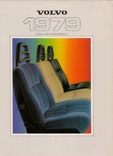 Volvo Colour & Trim 1978-79 UK Market Foldout Brochure 343 244 245 264 265 262