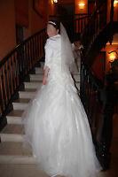 Traumhaftes frz. Hochzeitskleid *Kollektion 2014* *WIE NEU* Brautkleid