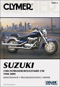 1998-2009 Suzuki Intruder 1500 Boulevard C90 C90T CLYMER REPAIR MANUAL M261