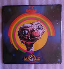 .E.T. Et Uk Sealed Fan Club Pack 1982- Poster,Record and other Memorabilia Rare