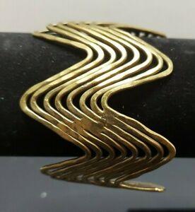 Stunning Vintage Brass Cuff Bracelet