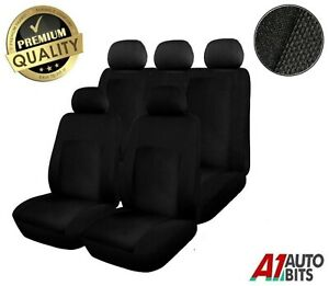 Sporty To Fit Peugeot 207 208 307 308 2008 3008 Car Seat Covers Full Set Black