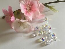 20 x Genuine Swarovski Crystal AB Aurora Boreale 5000 6 mm DIY Jewellery Beads