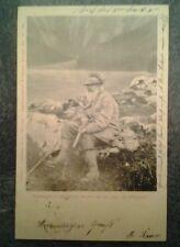 Postkarte 1901 Prinzregent Luitpold auf der Jagd am Königsee, beschrieben