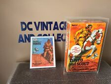 Vintage 1970's Gabriel Tonto & Scout Factory Sealed New Custom Acrylic Case!