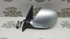 AUDI Q7 S-LINE PASSENGER LEFT SIDE WING MIRROR IN SILVER PAINT CODE LY7W 06-10