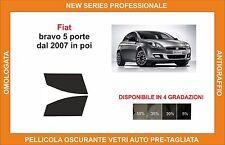 pellicola oscurante vetri fiat bravo 5p dal 2007 kit anteriore
