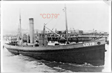 More details for 7 vintage photos of canadian ww1 steam drifters & trawlers