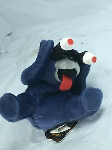 Rare NWT MEANIES Series 2 Peeping Tom Cat bean bag 1998 from old store stock FS