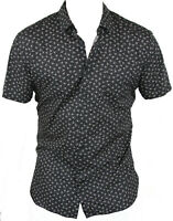 New Hugo Boss Mens Casual Shirt in Black Colour Size:L