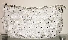 FRANCESCO BIASIA Abendtasche Weiß Damen Tasche Clutch Bag Handtasche