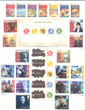 Harry Potter complete mnh collection-Great Britain & isle of Man
