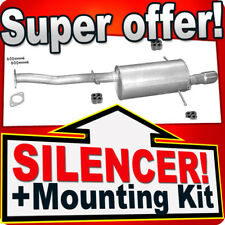 Subaru Forester (SF) 2.0 S Turbo 1998-2002 Exhaust Rear Silencer L37