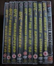 UFC 40, 42, 44, 48-53 & Ultimate Knockouts DVDs (10 Discs in Total)