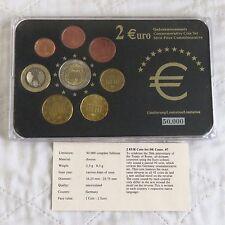 Allemagne 2007 COMMEMORATIVE Rome 2 EURO en 8 pour pièces de monnaie Euro type Set-Pack/COA