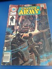 VINTAGE Comic book, Fighting Army, 1976 WW2, By Charlton Comics