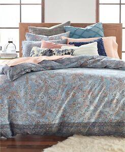 Lucky Brand  Blue Basanti Cotton 2/3-Pc. Twin/King Duvet Set