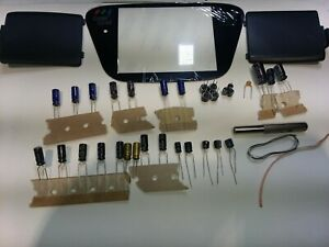 Sega Game Gear Capacitor Kit Covers All Models complete overhaul kit!