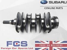 NEW GENUINE SUBARU IMPREZA WRX STI NITRIDE REAR THRUST CRANKSHAFT COMPLETE EJ20